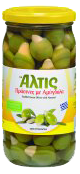 Product picture Altis green olives filled with peppers