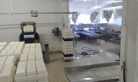 Dairy-kitchen in Greece.